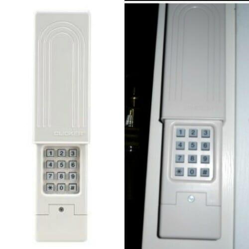 keyless entry pad