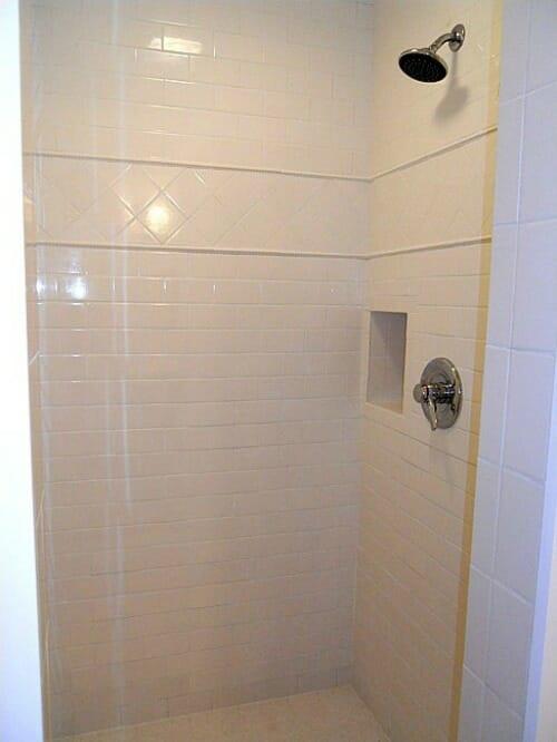 new walkin shower