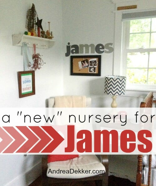 nursery for james