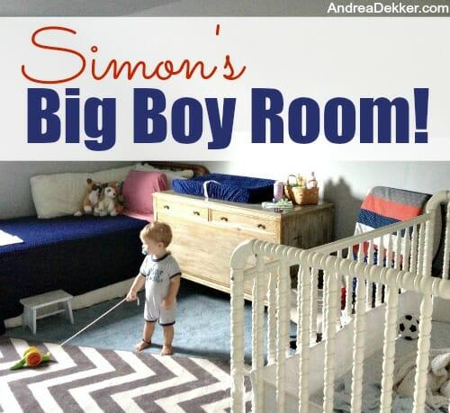 simon's big boy room