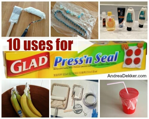 10 uses for glad press n seal