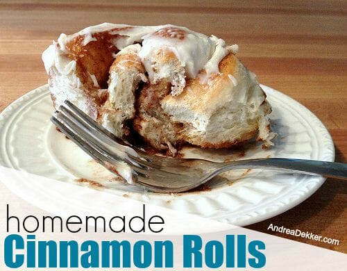 homemade cinnamon rolls