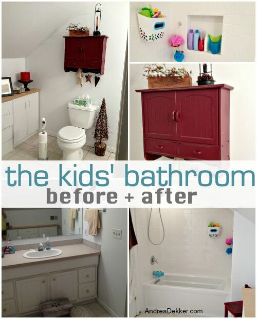 the kids bathroom reno