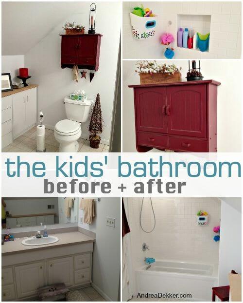 the kids bathroom reno