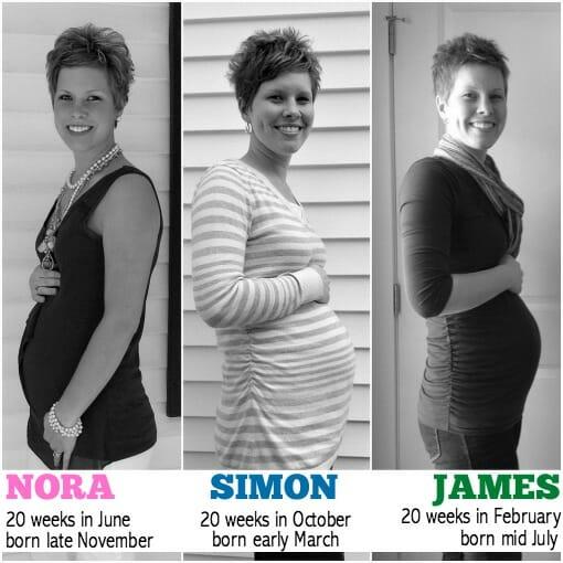 3 pregnancies