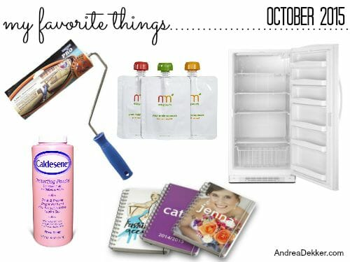 favorite things october