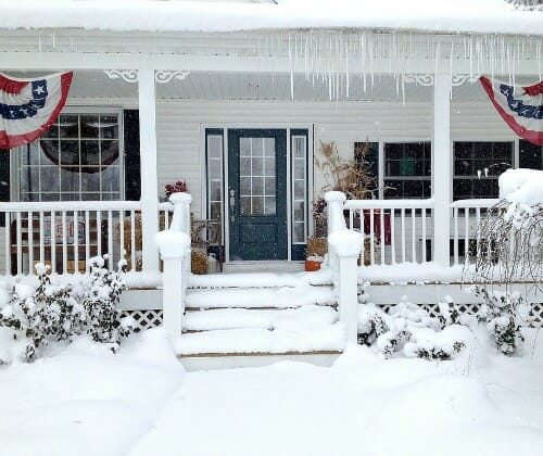 how we winterize our home