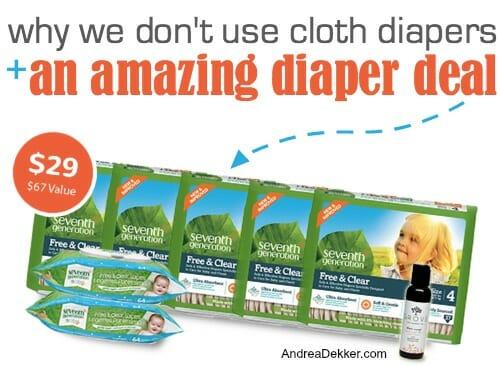 seventh generation diaper bundle
