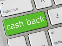cash back thumb
