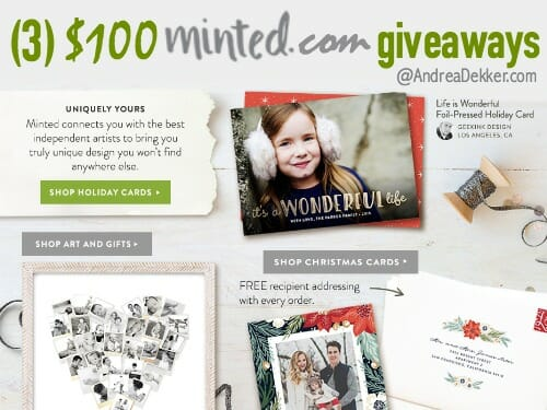 minted.com giveaway