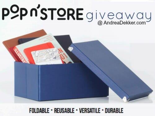 pop 'n store giveaway