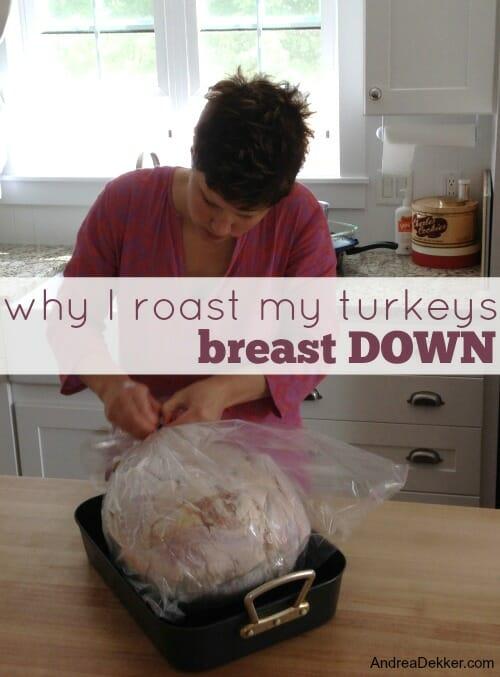 roasting turkeys