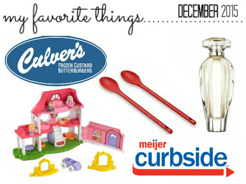 favorite things december 15