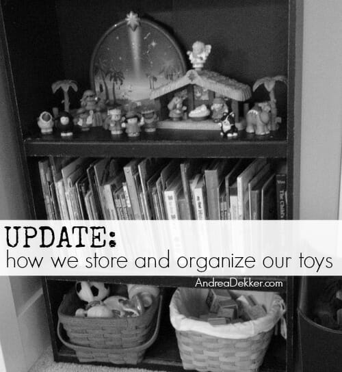 store and organize toys