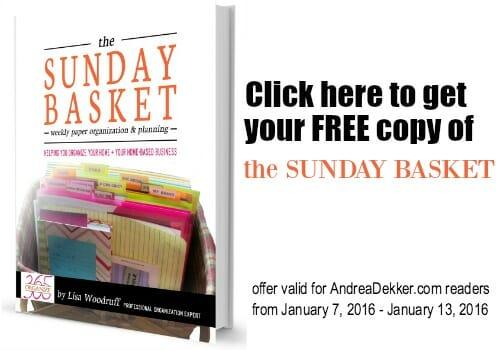 free sunday basket