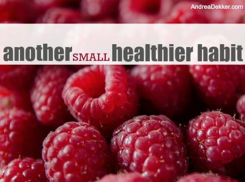 healthier habit