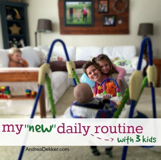 new daily routine