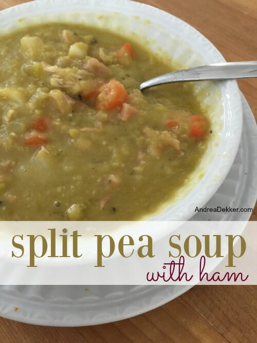 Split Pea Soup With Ham - Andrea Dekker