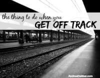 off track thumb