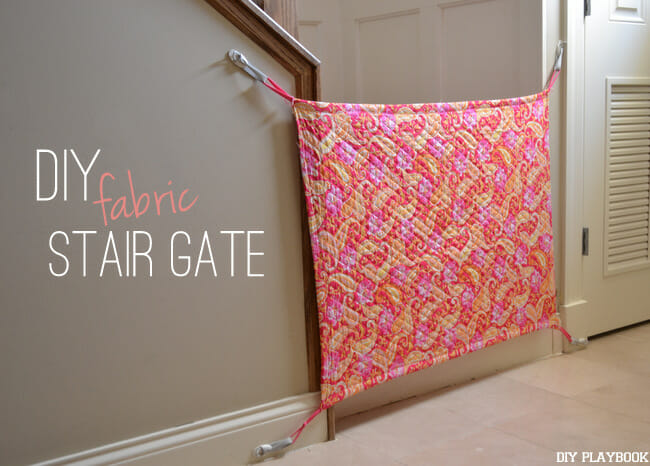 DIY-Custom-Fabric-Stair-Gate