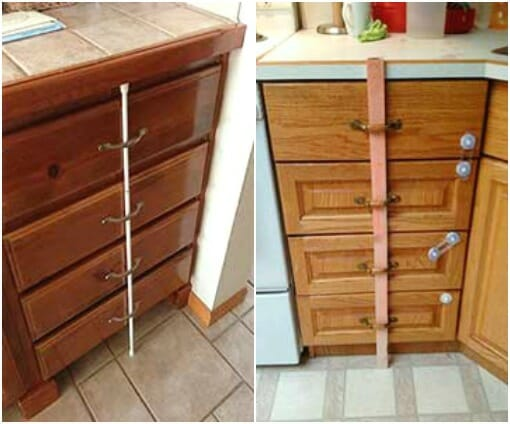 drawer stoppers