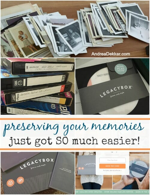 preserving memories with Legacybox
