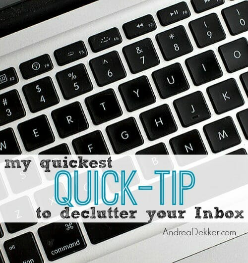 email quick tip
