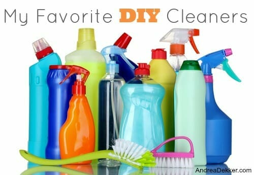 simple DIY cleaning products