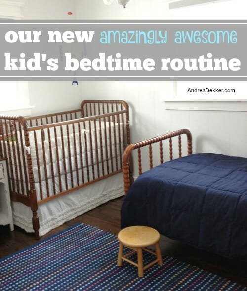 kids bedtime routine