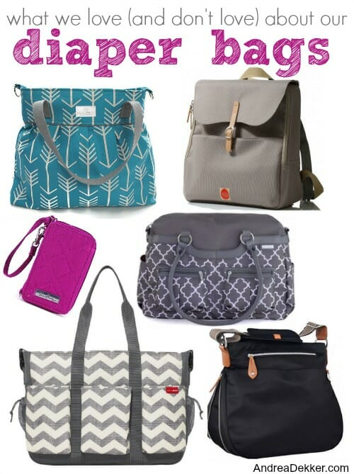 our diaper bags
