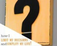 decisions thumb