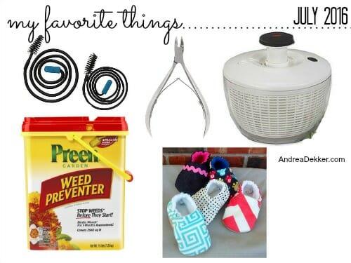 favorite things july16