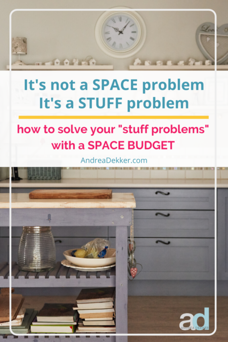 how to implement a space budget