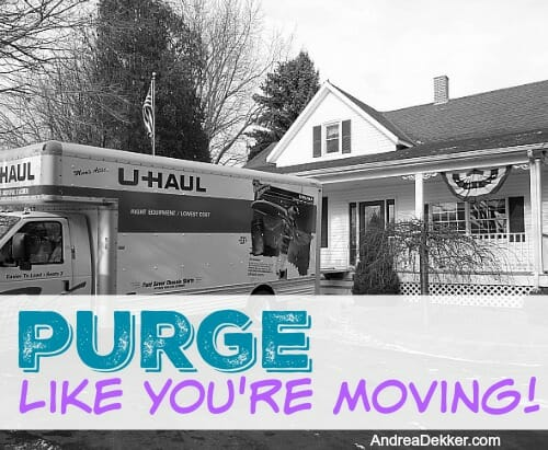 purge like you're moving