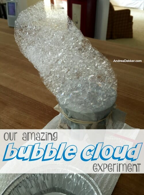 bubble cloud experiment