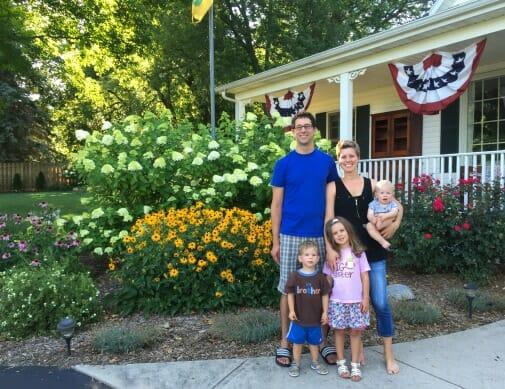 family photo - july