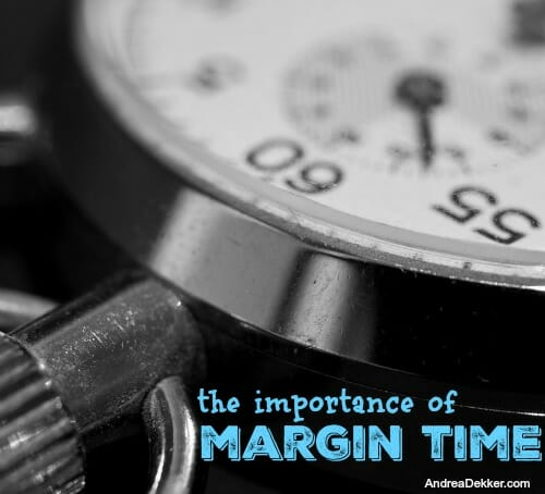 margin time