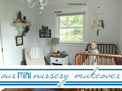 nursery makeover