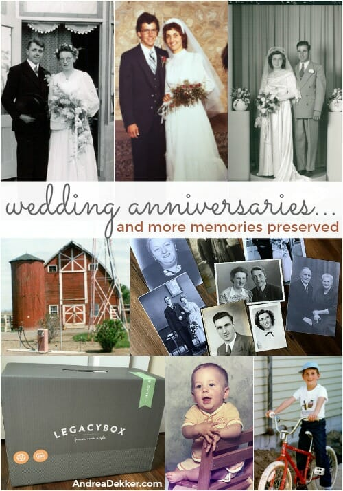 wedding anniversaries