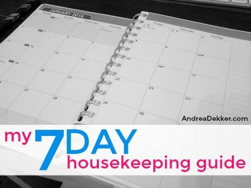 housekeeping guide