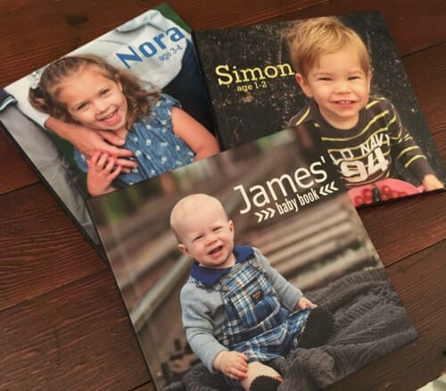 kids' photo books