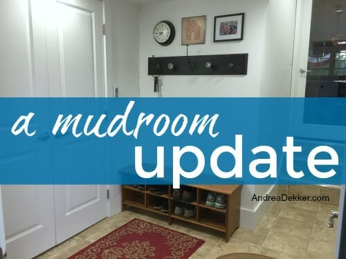 mudroom update