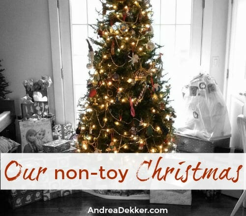 non toy christmas