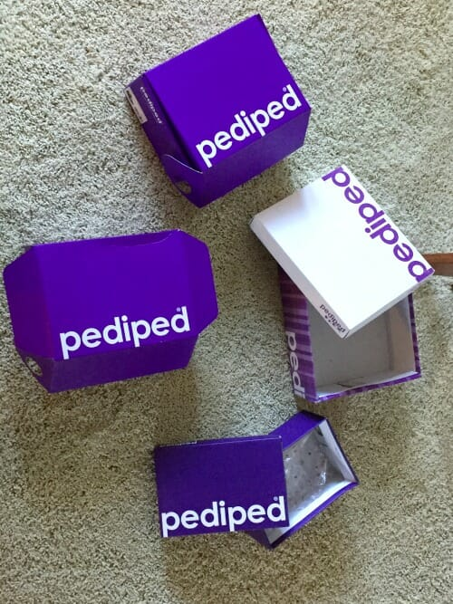 pediped boxes