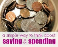 saving and spending thumb