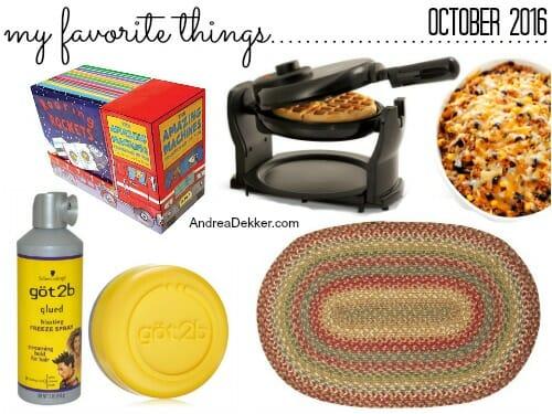favorite things october