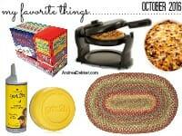 favorite things thumb
