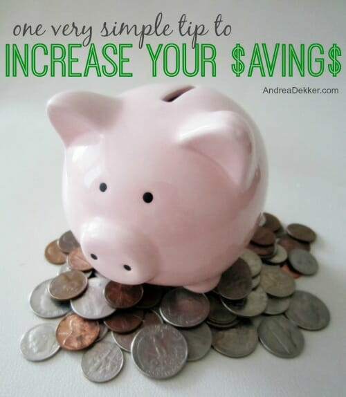 increase your savings