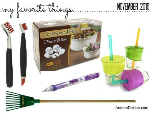 favorite things November
