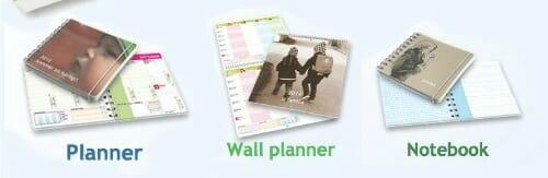planner options